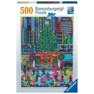 "Ravensburger (16424) - ""Rockefeller Christmas"" - 500 pièces"