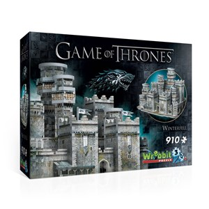 """Wrebbit (W3D-2018) - """"Game of Thrones, Winterfell"""" - 910 pièces"""