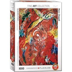 """Eurographics (6000-5418) - Marc Chagall: """"Le Triomphe de la Musique"""" - 1000 pièces"""