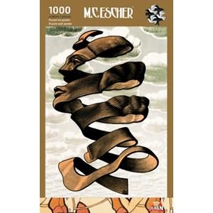 """PuzzelMan (855) - M. C. Escher: """"Omhulsel"""" - 1000 pièces"""