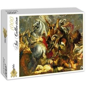 """Grafika (00354) - Peter Paul Rubens: """"Sieg und Tod des Konsuls Decius Mus in der Schlacht, 1617"""" - 1000 pièces"""