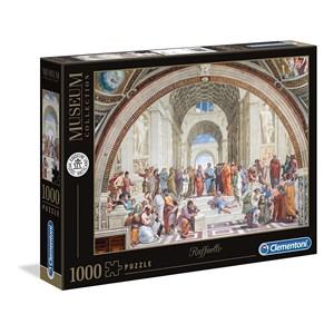 """Clementoni (39483) - Raphael: """"L'Ecole d'Athènes"""" - 1000 pièces"""