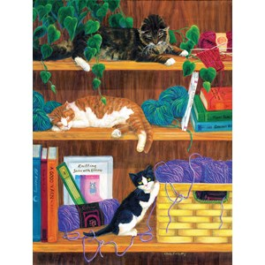 "SunsOut (31631) - Linda Elliott: ""A good Yarn"" - 500 pièces"