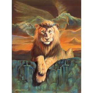 "SunsOut (66048) - William Clayton Hallmark: ""Lion of Judah"" - 500 pièces"