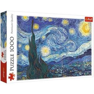 """Trefl (10560) - Vincent van Gogh: """"La Nuit Etoilée"""" - 1000 pièces"""