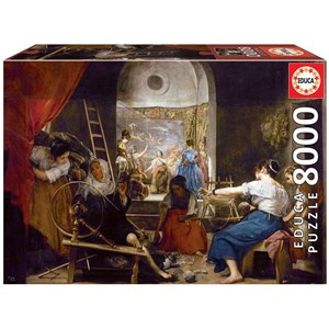 """Educa (18584) - Diego Vélasquez: """"The Spinners"""" - 8000 pièces"""