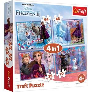 """Trefl (34323) - """"La Reine des Neiges"""" - 35 48 54 70 pièces"""