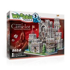 """Wrebbit (W3D-2016) - """"King Arthur's Camelot"""" - 865 pièces"""