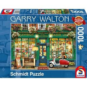 """Schmidt Spiele (59605) - Garry Walton: """"Electronics Shop"""" - 1000 pièces"""