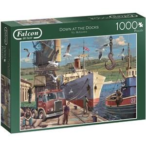 "Jumbo (11178) - Vic McLindon: ""Down the docks"" - 1000 pièces"