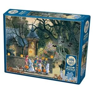 """Cobble Hill (85085) - Douglas Laird: """"Halloween Buddies"""" - 500 pièces"""