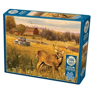 """Cobble Hill (85078) - Greg Giordano: """"Deer Field"""" - 500 pièces"""