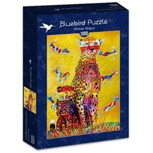"Bluebird Puzzle (70301) - Graeme Stevenson: ""African Watch"" - 1000 pièces"
