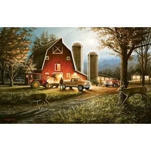 """SunsOut (55193) - Chuck Black: """"Harvest Nights"""" - 550 pièces"""
