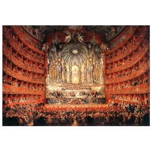 """Impronte Edizioni (252) - Giovanni Paolo Panini: """"Musical feast given by the cardinal de La Rochefoucauld"""" - 1000 pièces"""