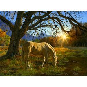 """SunsOut (26294) - Karla Mann: """"Pastoral Sunset"""" - 1000 pièces"""