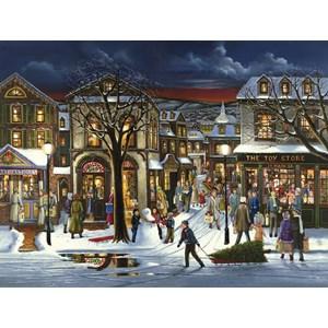 """Cobble Hill (52053) - H. Hargrove: """"Achats de Noël"""" - 500 pièces"""