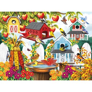 "SunsOut (63009) - Nancy Wernersbach: ""Autumn Backyard"" - 1000 pièces"