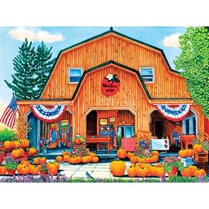 "SunsOut (32710) - Thelma Winter: ""Weiss Farm Pumpkins"" - 500 pièces"