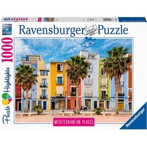 "Ravensburger (14977) - ""Alicante, Villajoyosa"" - 1000 pièces"