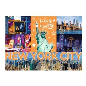 "Trefl (10579) - ""New-York Neon City"" - 1000 pièces"