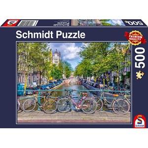 "Schmidt Spiele (58942) - ""Amsterdam"" - 500 pièces"