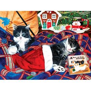 "SunsOut (67251) - Julie Bauknecht: ""A Tale of Two Kittens"" - 500 pièces"