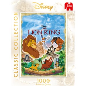 """Jumbo (18823) - """"The Lion King Movie Poster"""" - 1000 pièces"""
