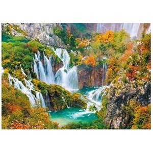 """Dino (53257) - """"Parc National des Lacs de Plitvice"""" - 1000 pièces"""