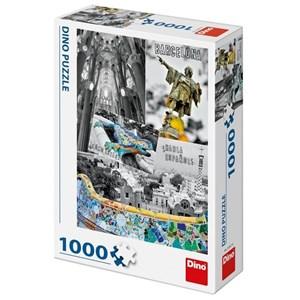 "Dino (53267) - ""Barcelone, Espagne"" - 1000 pièces"