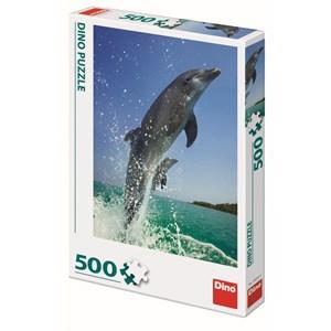 "Dino (50225) - ""Dauphins"" - 500 pièces"