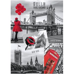 """Dino (53250) - """"Hello from London"""" - 1000 pièces"""