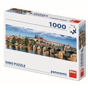 """Dino (54538) - """"Prague, République Tchèque"""" - 1000 pièces"""