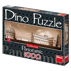 "Dino (54527) - ""Pise, Italie"" - 1000 pièces"