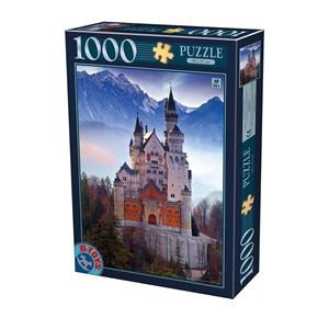 """D-Toys (75963) - """"Neuschwanstein"""" - 1000 pièces"""