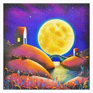 "Pintoo (h2132) - Darren Mundy: ""Golden Moon River"" - 1600 pièces"