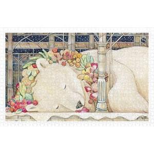 "Pintoo (h2150) - Cotton Lion: ""Goodnight Polar Bear"" - 1000 pièces"