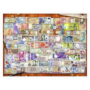 """Pintoo (h2086) - Garry Walton: """"Currency of the World"""" - 1200 pièces"""
