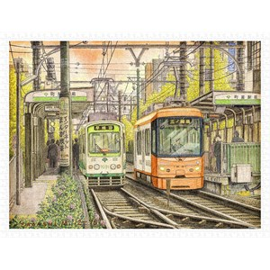 "Pintoo (h2118) - Tadashi Matsumoto: ""The Changing of Times"" - 1200 pièces"