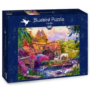 "Bluebird Puzzle (70146) - Jan Patrik Krasny: ""Old Mill"" - 3000 pièces"