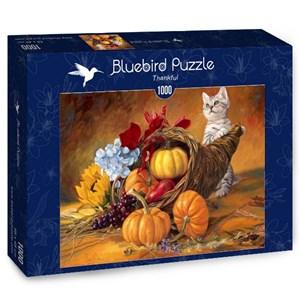 """Bluebird Puzzle (70069) - Lucie Bilodeau: """"Thankful"""" - 1000 pièces"""