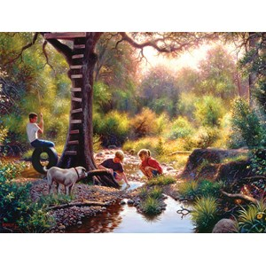 "SunsOut (53074) - Mark Keathley: ""The Clubhouse"" - 500 pièces"