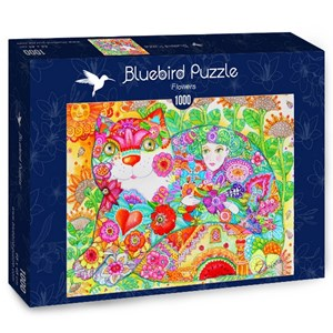 "Bluebird Puzzle (70415) - Oxana Zaika: ""Flowers"" - 1000 pièces"
