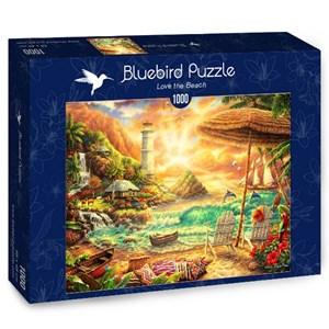 """Bluebird Puzzle (70417) - Chuck Pinson: """"Love the Beach"""" - 1000 pièces"""
