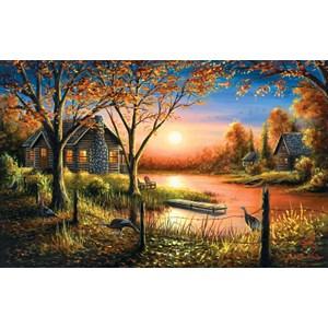 """SunsOut (55140) - Chuck Black: """"Glorious Sunset"""" - 550 pièces"""