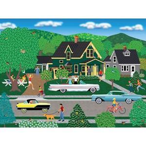 """SunsOut (22636) - Mark Frost: """"Nellie's New Car"""" - 1000 pièces"""