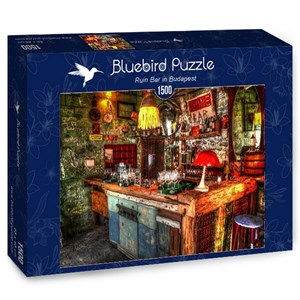 """Bluebird Puzzle (70011) - """"Ruin Bar in Budapest"""" - 1500 pièces"""