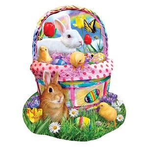 "SunsOut (97124) - Lori Schory: ""Bunny's Easter Basket"" - 1000 pièces"