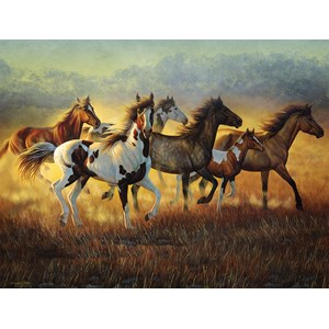 """SunsOut (70936) - Cynthie Fisher: """"Running with the Wind"""" - 500 pièces"""