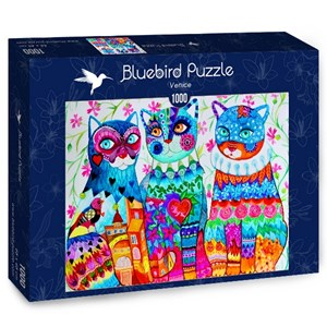 "Bluebird Puzzle (70412) - Oxana Zaika: ""Venice"" - 1000 pièces"